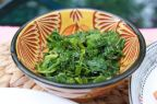 Tahini Steamed Kale